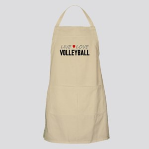 Live Love Volleyball Apron