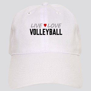 Live Love Volleyball Cap
