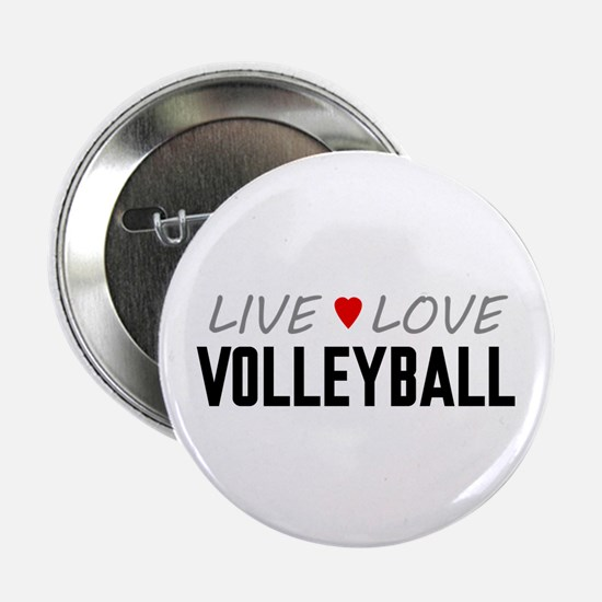 """Live Love Volleyball 2.25"""" Button (100 pack)"""