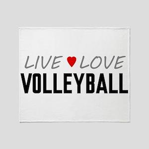 Live Love Volleyball Stadium Blanket