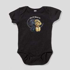 Labradoodle IAAU Baby Bodysuit
