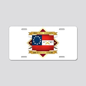 2nd Kentucky Cavalry Aluminum License Plate