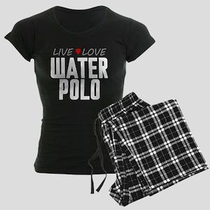 Live Love Water Polo Women's Dark Pajamas