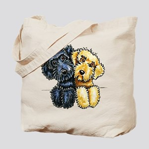 Labradoodles Lined Up Tote Bag