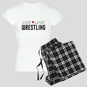 Live Love Wrestling Women's Light Pajamas