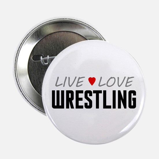 """Live Love Wrestling 2.25"""" Button (100 pack)"""