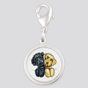 Labradoodles Lined Up Charms