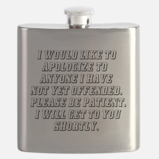 Cute Apologize Flask