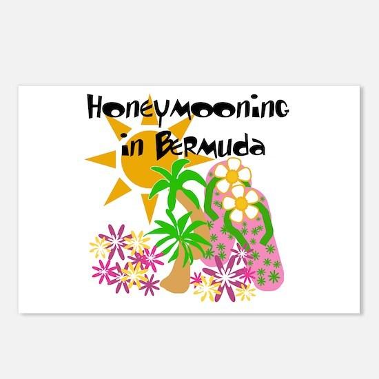 Honeymoon Bermuda Postcards (Package of 8)