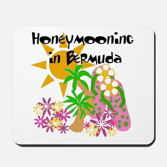 Honeymoon Bermuda Mousepad
