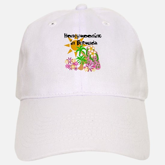 Honeymoon Bermuda Baseball Baseball Cap