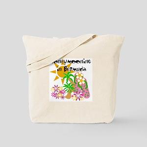 Honeymoon Bermuda Tote Bag