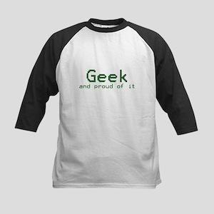 Geeks Kids Baseball Jersey