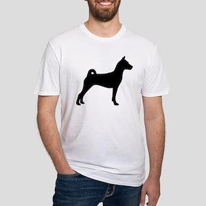 Basenji Dog Fitted T-Shirt