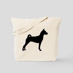 Basenji Dog Tote Bag