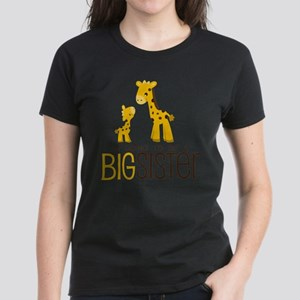 I'm going to be a big sister Women's Dark T-Shirt