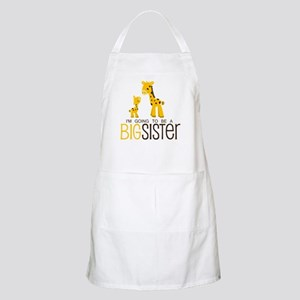 I'm going to be a big sister Apron