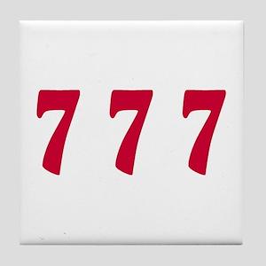 777 Tile Coaster