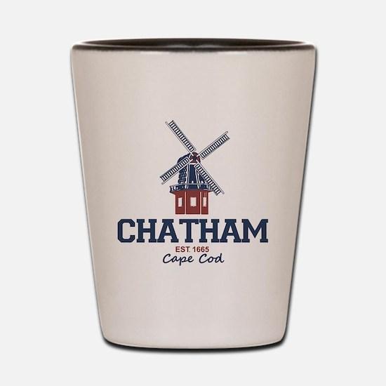 Chatham. Cape Cod. Shot Glass
