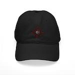 Mmeye Logo Baseball Hat Black Cap