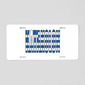 Katakolon Aluminum License Plate