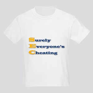 Surely Everyone's Cheating Kids Light T-Shirt
