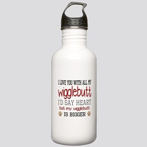 I Love You With All My Stainless Water Bottle 1.0L