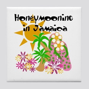 Honeymoon Jamaica Tile Coaster
