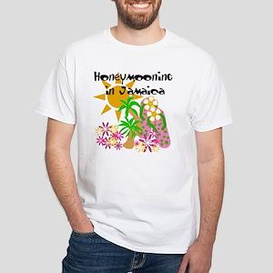 Honeymoon Jamaica White T-Shirt