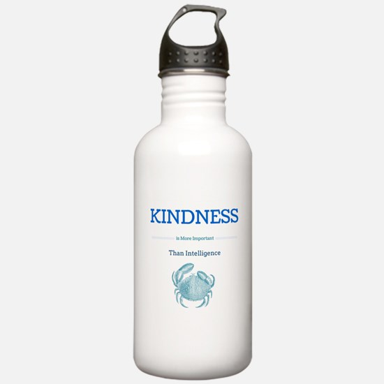 kindness crab Water Bottle