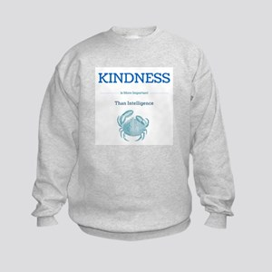 kindness crab Sweatshirt