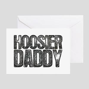 Hoosier Daddy Greeting Card