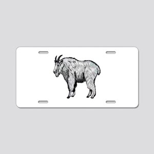 NOT SHY Aluminum License Plate