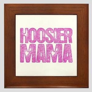 Hoosier Mama Framed Tile