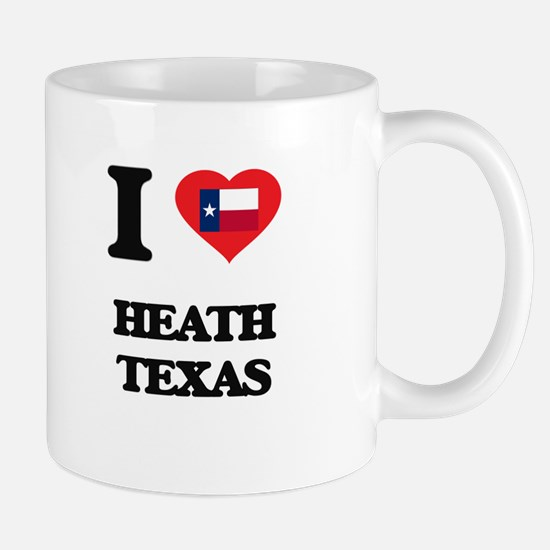 I love Heath Texas Mugs