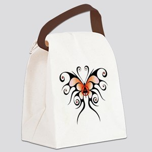 AA butterfly Canvas Lunch Bag
