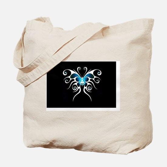 AA white butterfly Tote Bag