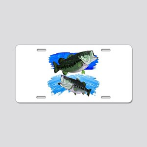 TWO STRIKES Aluminum License Plate