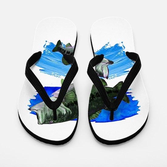 TWO STRIKES Flip Flops
