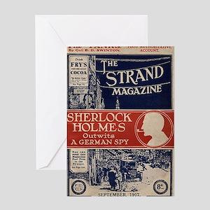 sherlock holmes cover art Greeting Card