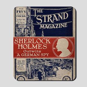 sherlock holmes cover art Mousepad