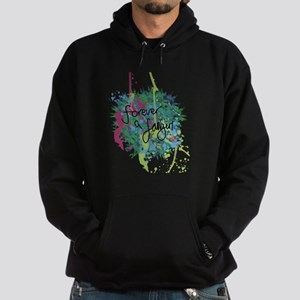 Forever a Fangirl Hoodie (dark)