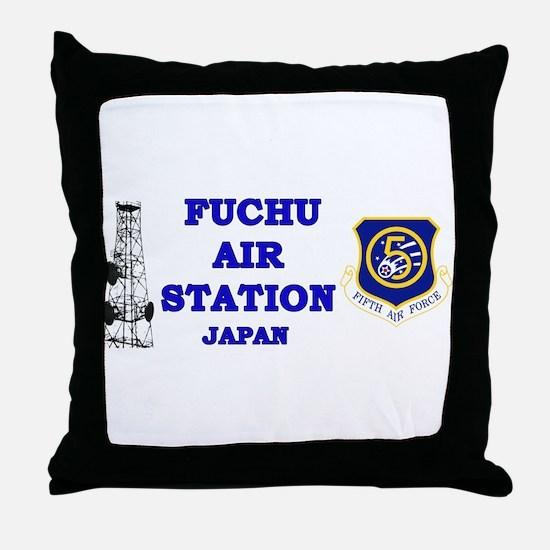 Fuchu Air Station Japan Throw Pillow