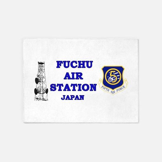 Fuchu Air Station Japan 5'x7'Area Rug