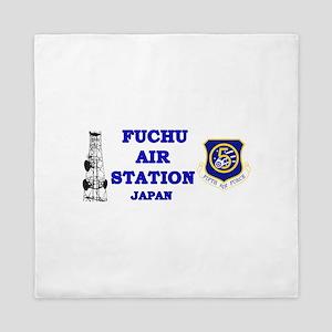 Fuchu Air Station Japan Queen Duvet