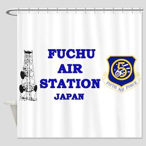 Fuchu Air Station Japan Shower Curtain