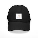 2-LogoColorTextBelowVeryLarge Baseball Hat