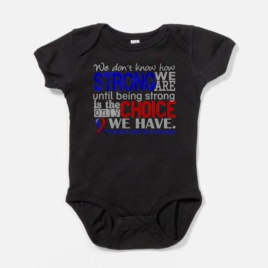 Congenital Heart Defect HowStrongWeA Baby Bodysuit