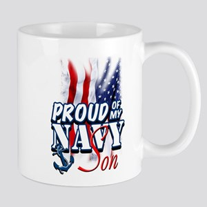Proud of my Navy Son Mugs