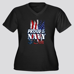 Proud of my Navy Son Plus Size T-Shirt